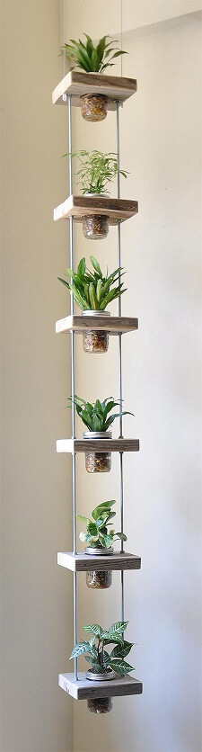 vertical planter mason jars(1)