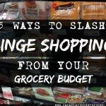 5 Ways To Slash Binge Shopping From Your Grocery Budget: The Grocery Game Challenge 2016 #1 Feb 1-7