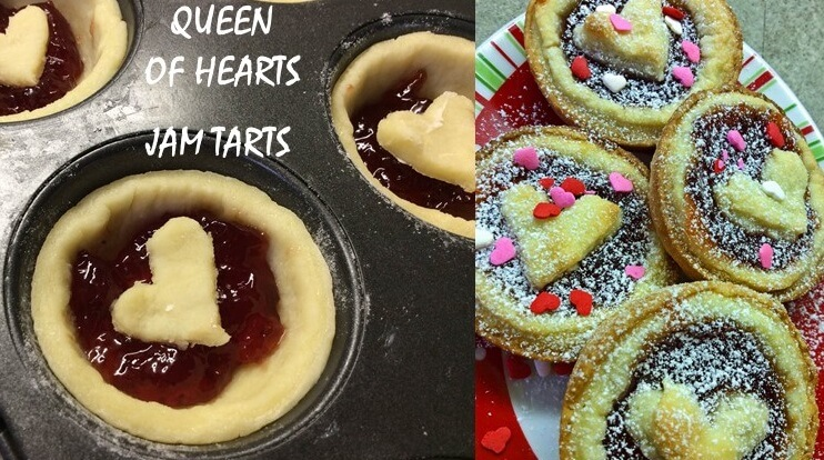 HOW TO MAKE QUEEN OF HEARTS JAM TARTS