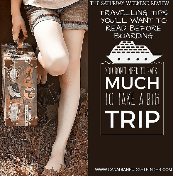 Travelling Tips You'll Want To Read Before Boarding : The Saturday Weekend Review #158