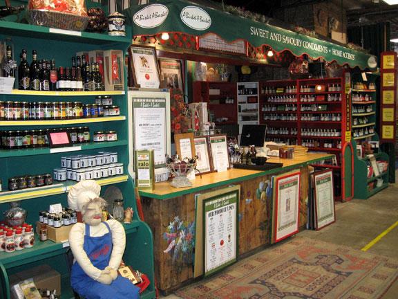 A bisket a basket gourmet food shop St lawrence Market