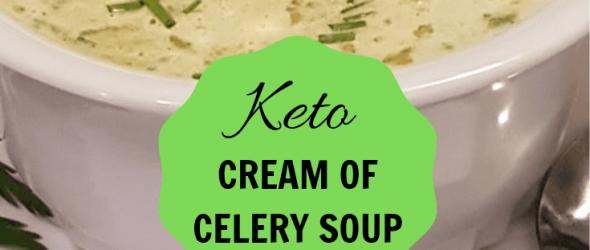 EASY KETO CREAM OF CELERY SOUPEASY KETO CREAM OF CELERY SOUP