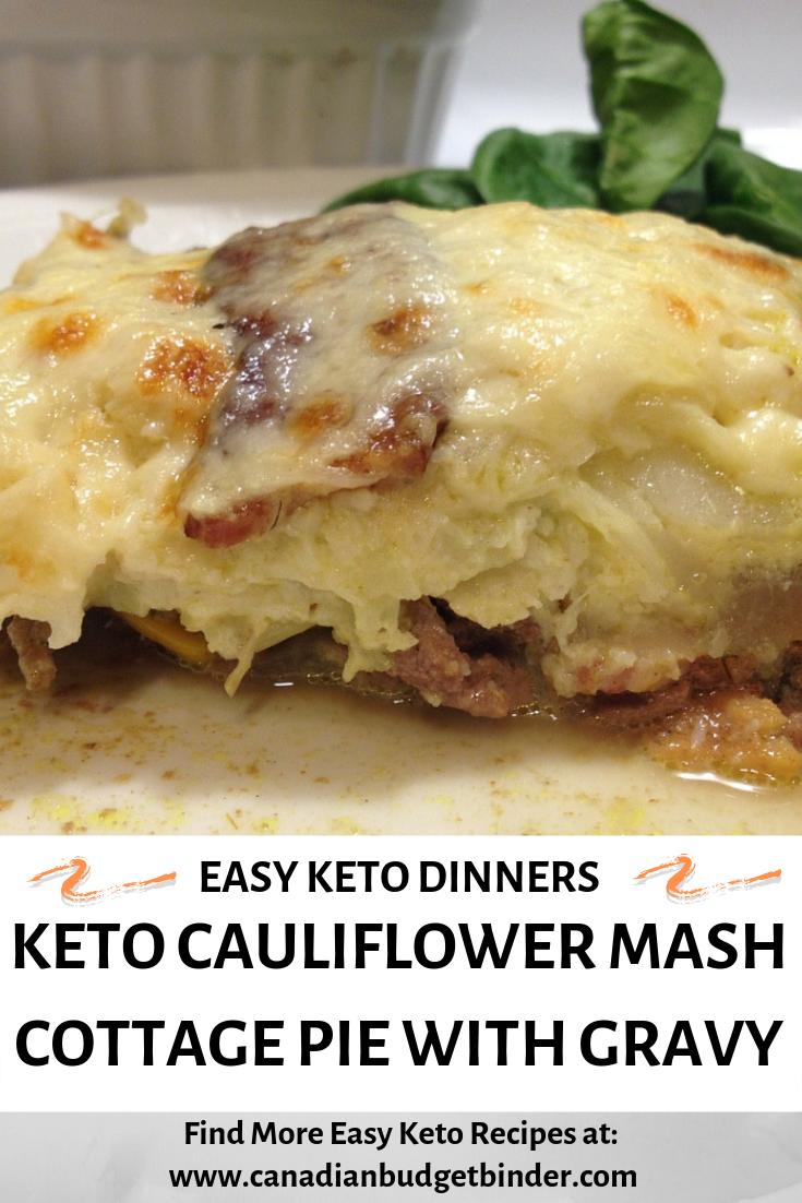 Leftover cauliflower mash