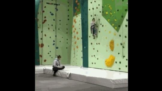 rock climbing funtopia