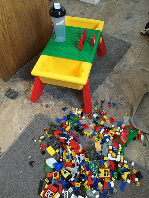 Lego Table with Lego Jen Garage Sale Deal 2016(1)