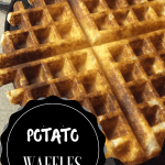 Homemade Potato Waffles