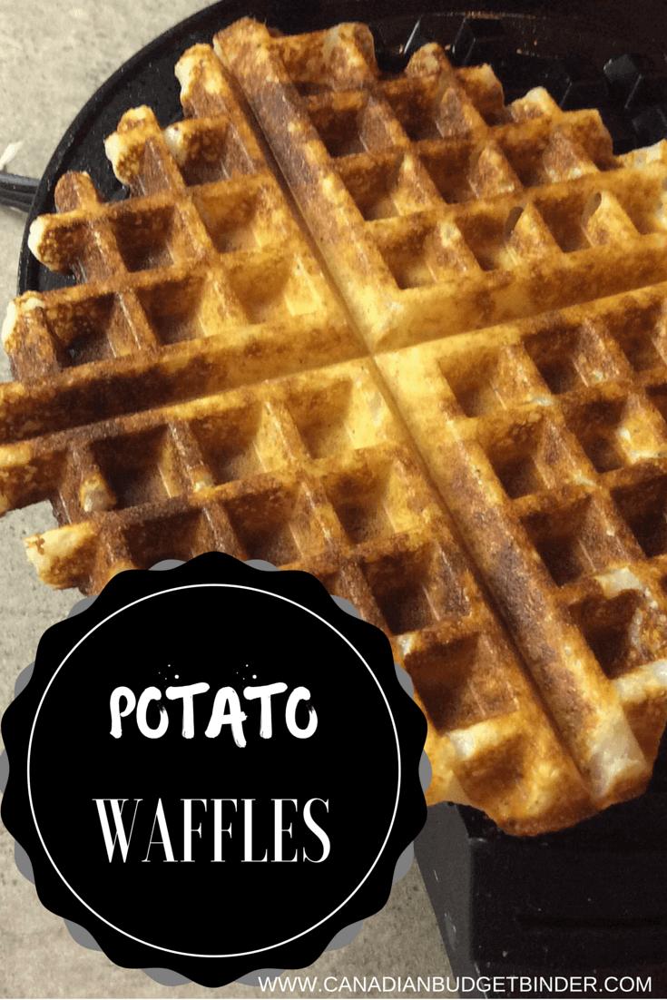 Homemade Potato Waffles