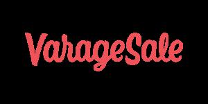 VarageSale white logo