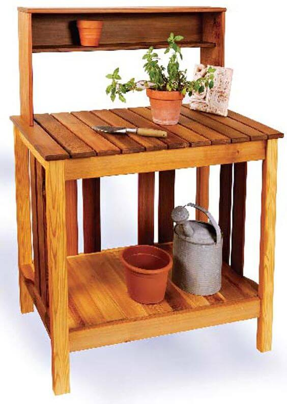 cedar potting bench(1)