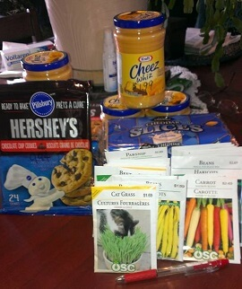 Colleen grocery shopping score May 2016 garden seeds(1)