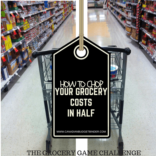 HOW TO CHOP YOUR GROCERY COSTS IN HALF