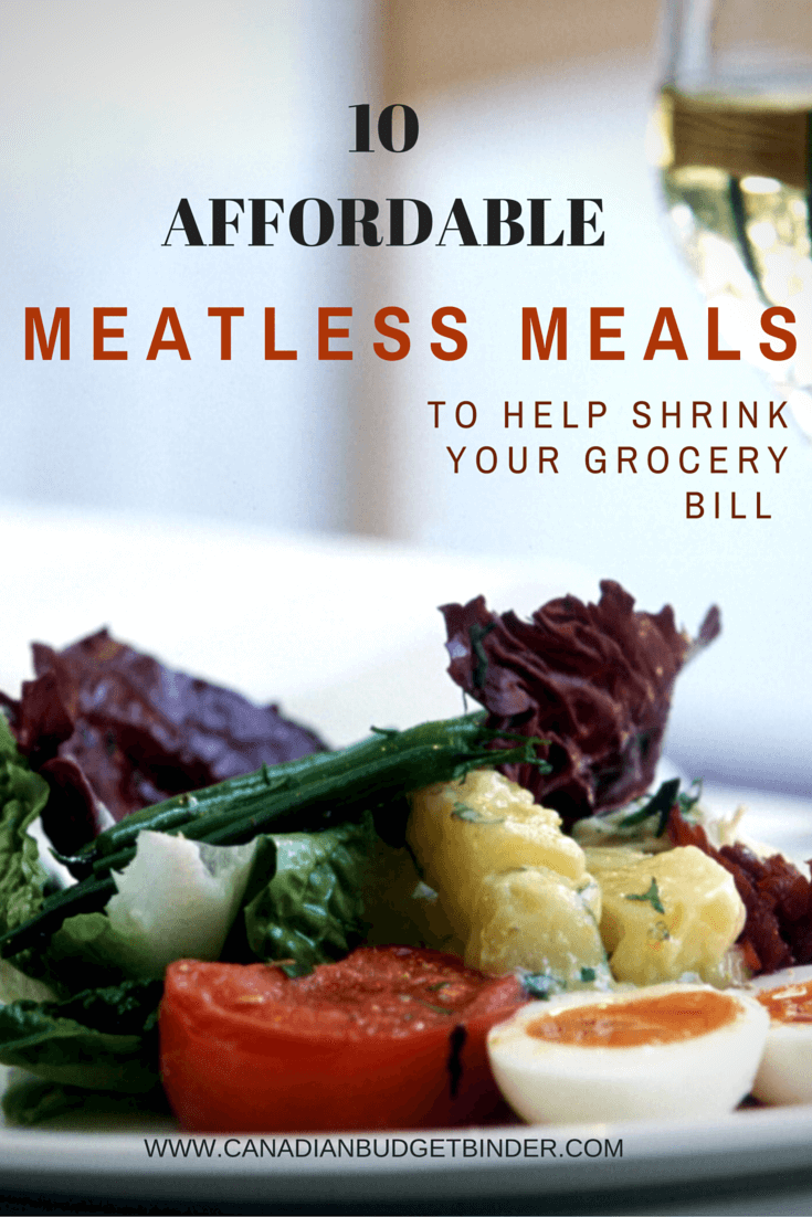 10 Affordable Meatless Meals To Help Shrink Your Grocery Bill : The Grocery Game Challenge 2016 #1 May 2-8