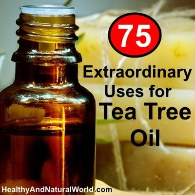 75 uses for tea tree oil