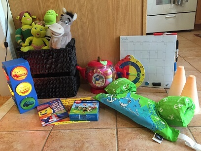 June Garage Sale Jen 2 toys for kids
