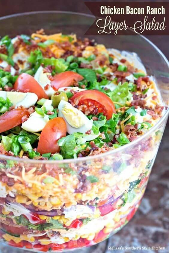 chicken bacon ranch layer salad(1)