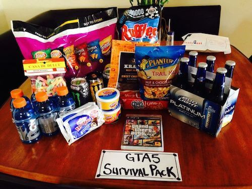 fathers day gamer survival kit