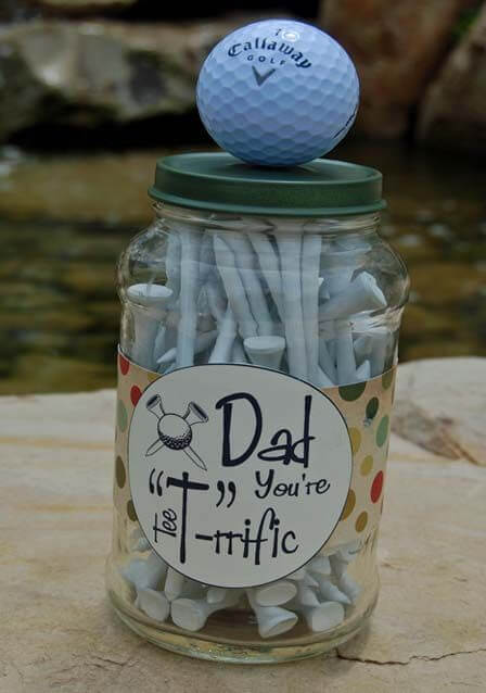 Golf Tee for the golfing dad on fathers day(1)