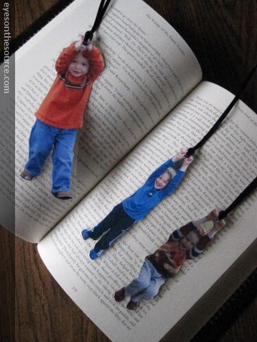 homemade bookmarks of kids for fathers day(1)