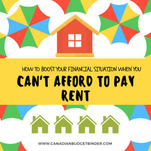 how to boost your financial situation when you can't afford to pay renthow to boost your financial situation when you can't afford to pay rent