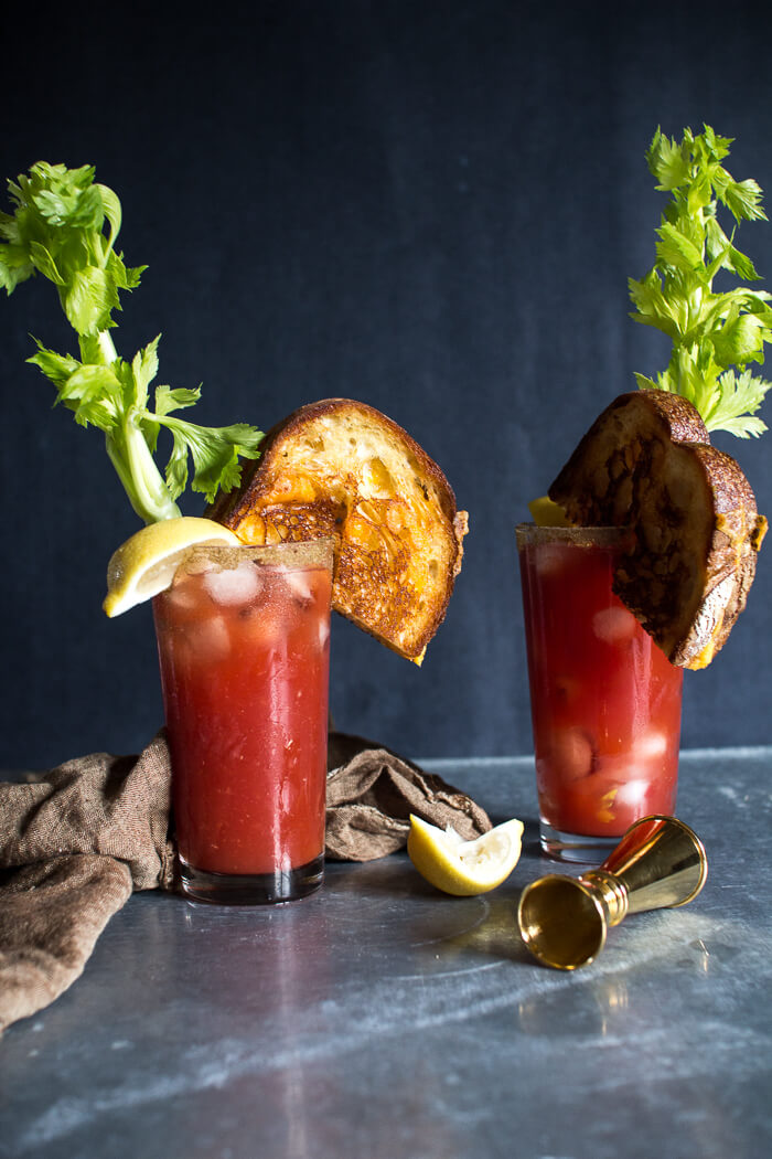Grilled Cheese Bloody Mary