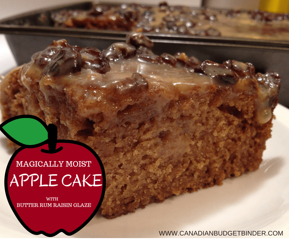 MAGICALLY MOIST APPLE CAKE 1