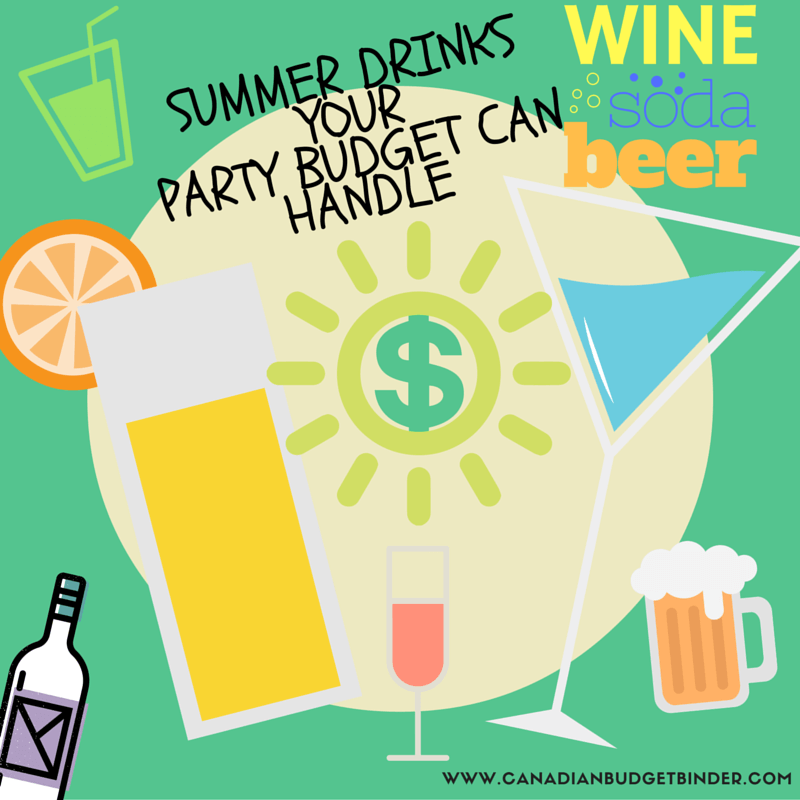 PARTY SUMMER DRINKS BUDGET FRIENDLY