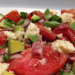 Simple Italian Tomato Salad…Buono!