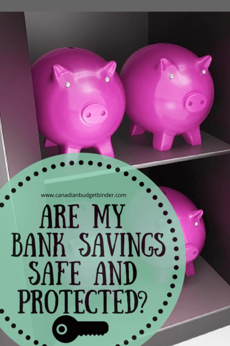 Are My Canadian Bank Savings Safe and Protected?