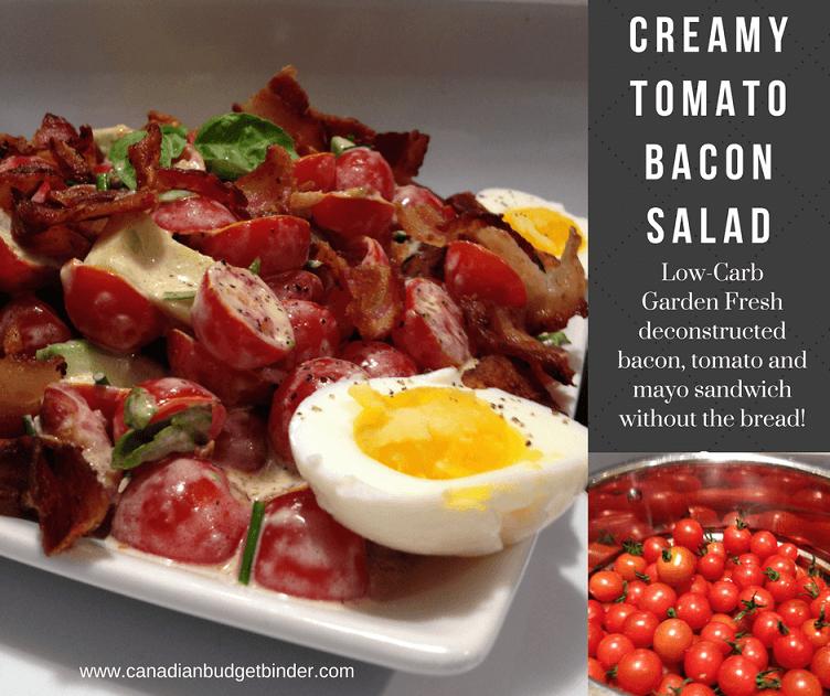 BTM cover 2 creamy bacon tomato salad