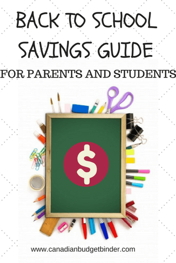 The Ultimate Back To School Savings Guide : The Saturday Weekend Review #187