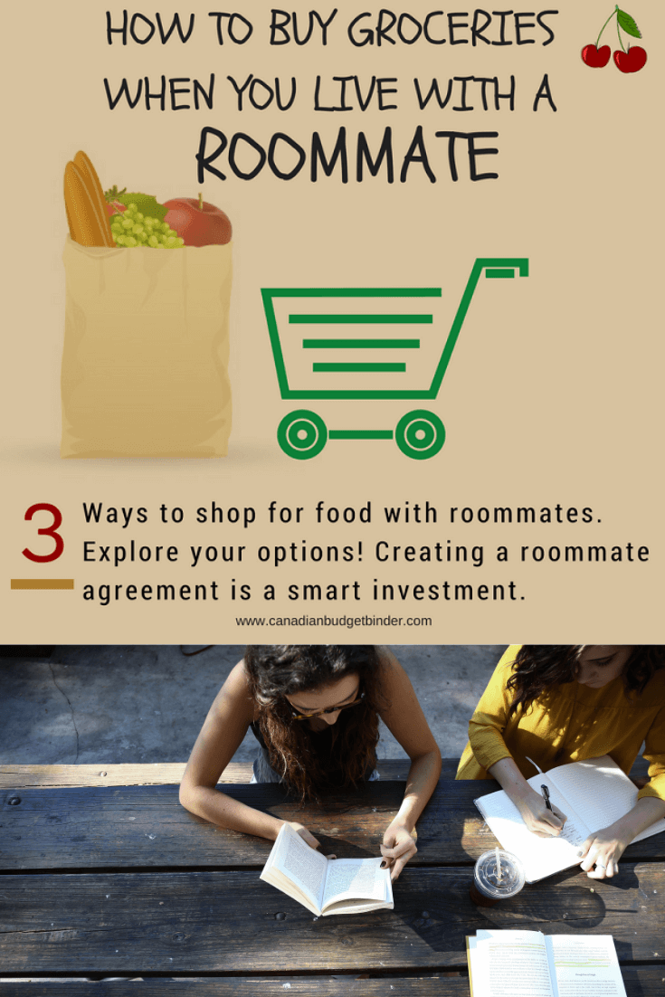 How To Buy Groceries When You Live With A Roommate