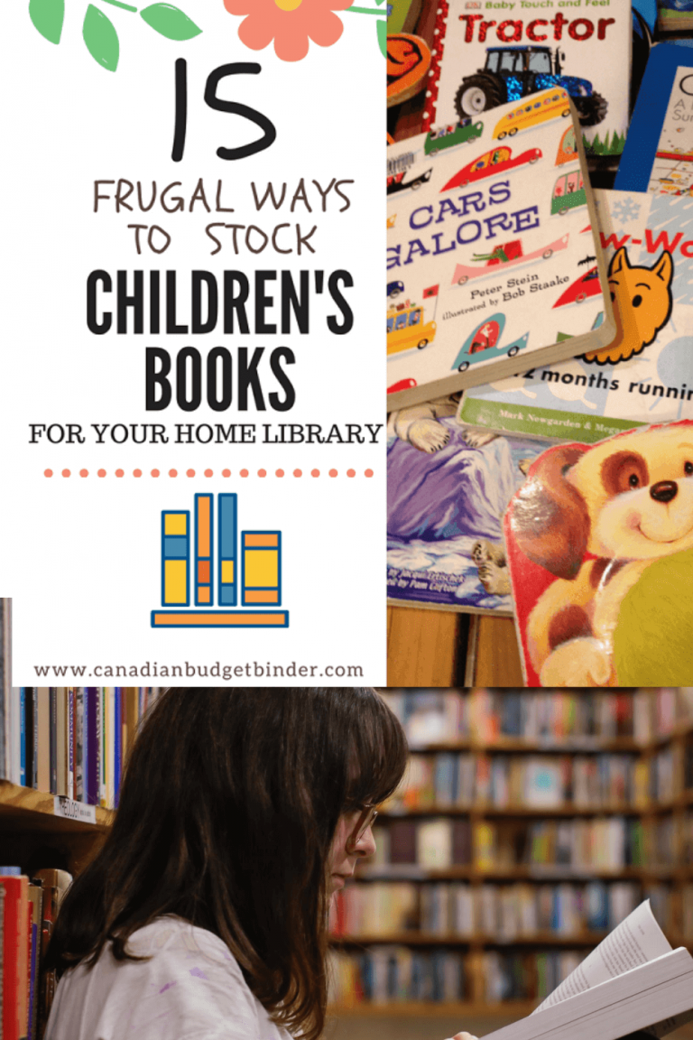 15 Cheap Ways To Get Children's Books For Home