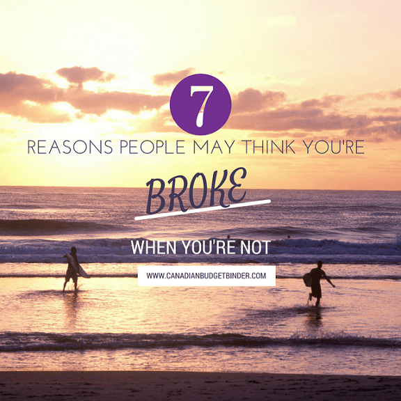 7 Reasons People Think You're Flat Broke When You're Not  : The Saturday Weekend Review #190