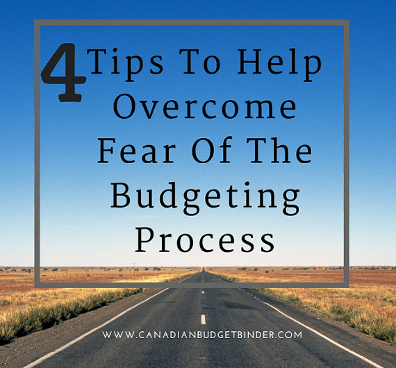 Four Tips To Help Overcome Fear of the Budgeting Process : Our September 2016 Budget Report
