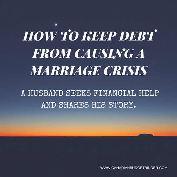 How To Keep Debt From Causing A Marriage Crisis