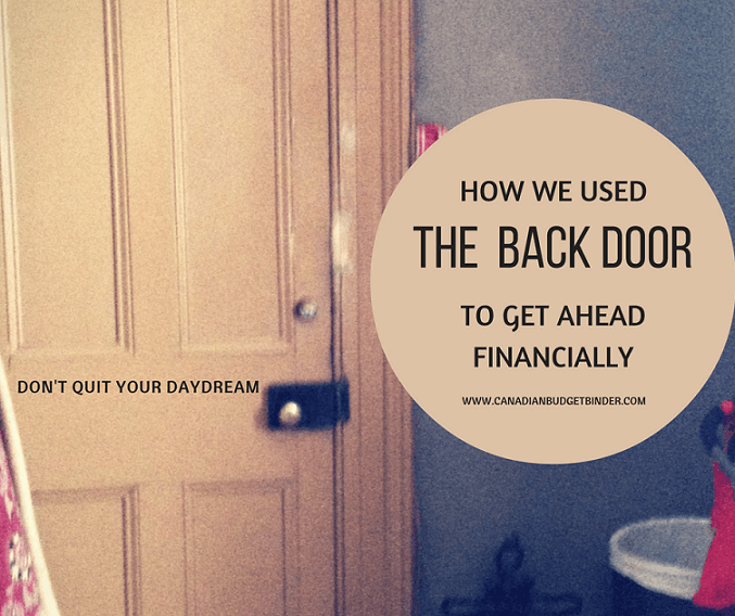 How We Used The Back Door To Get Ahead Financially : September Net Worth Update (+0.60%)
