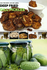 keto fried pickles