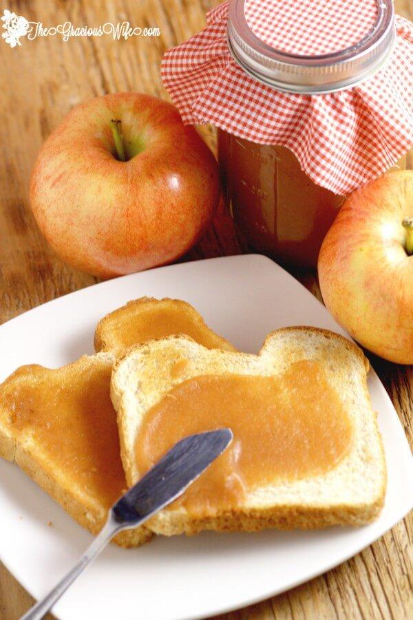 homemade apple butter crock pot recipes