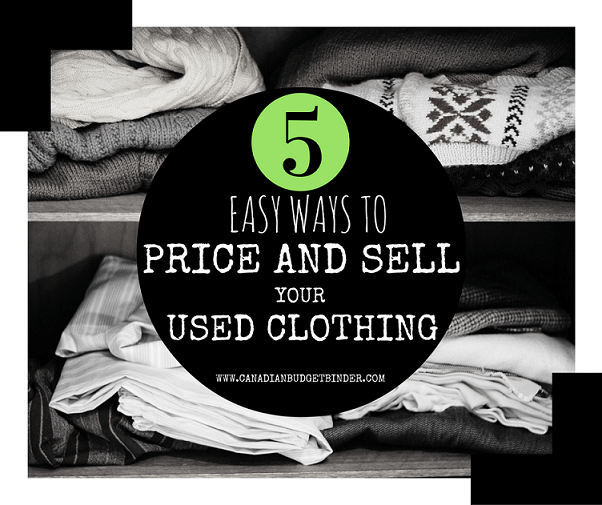 Where to sell used clothes online canada