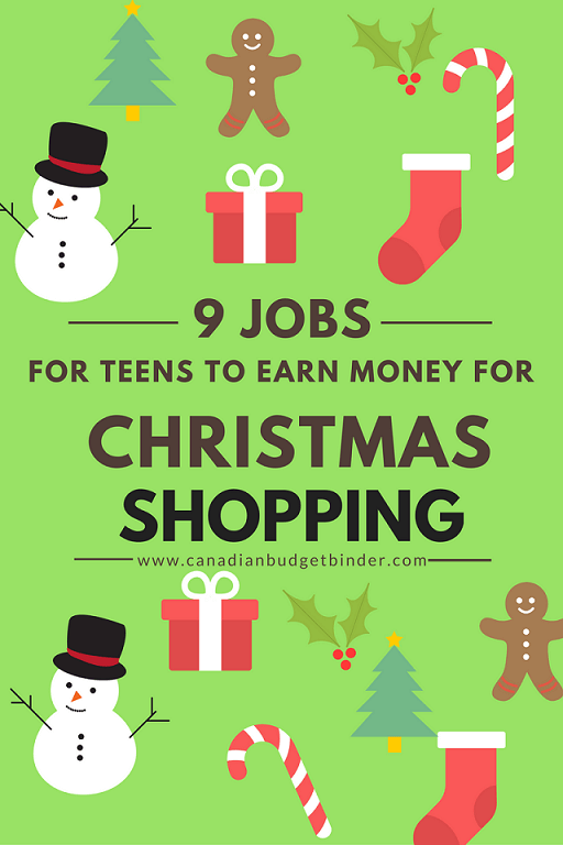 9 Simple Jobs For Teens To Earn Christmas Shopping Money