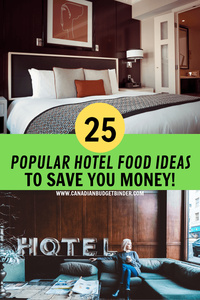 HOTEL FOOD IDEAS