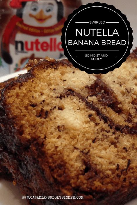 Italian Nutella Banana Bread