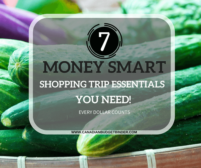 7 MONEY SMART SHOPPING TRIP ESSENTIALS