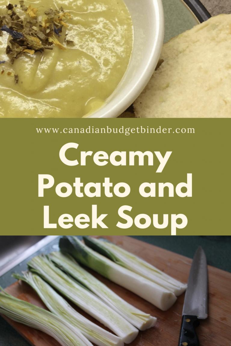 Easy Creamy Potato Leek Soup