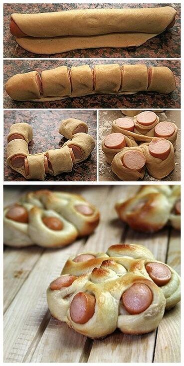 DIY-Twisted-Hotdog-Bun-Tutorial