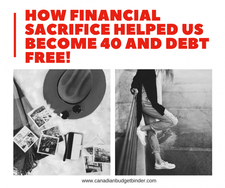 How Financial Sacrifice Helped Us Become 40 and Debt Free : The Saturday Weekend Review #212