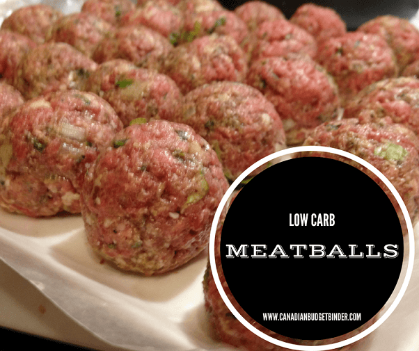 low carb meatballs keto