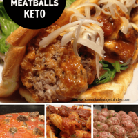 low carb meatballs keto friendly