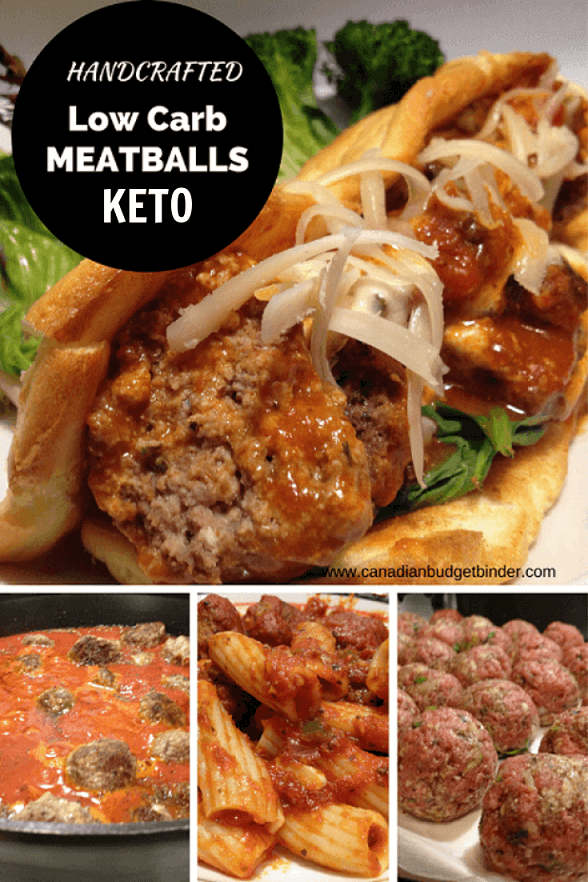 Low Carb Meatballs In Tomato Sauce (Keto)
