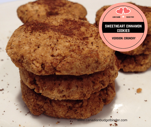 weetheart cinnamon cookies Facebook low carb sugar free vs crunchy